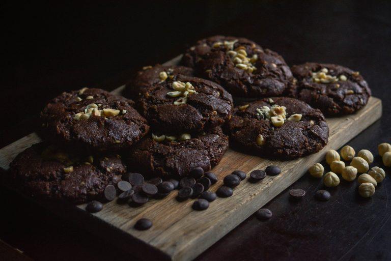 Lees meer over het artikel Chocolade hazelnoot koeken